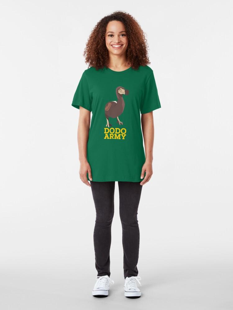 Alternative Ansicht von Dodo Army - Video Game Gift Slim Fit T-Shirt