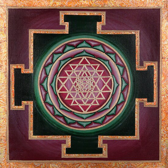 Sri Yantra by Tammi Baliszewski