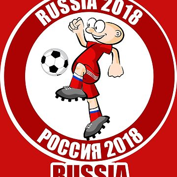 Russian player in the Soccer World Cup Russia 2018 by MegaSitioDesign