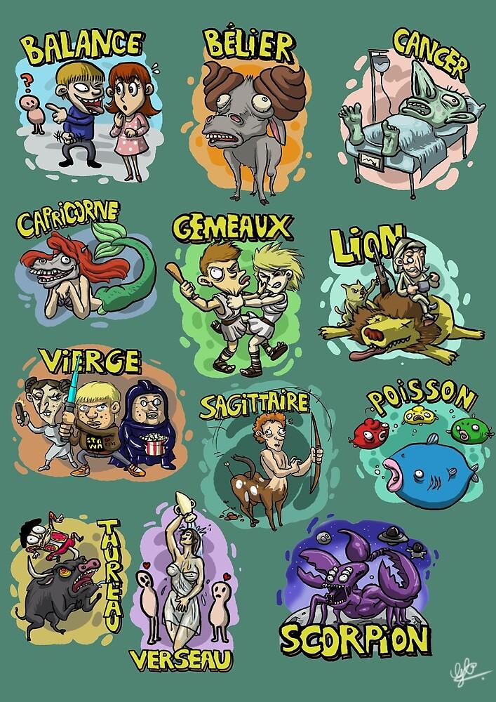 « Signes du zodiaque » par le-grom