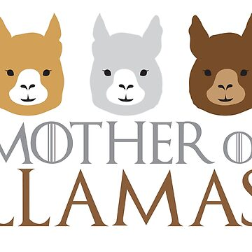 Mother of LLamas by jazzydevil