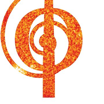 The Sun   Phi Spiral  by SirDouglasFresh