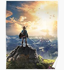 Legend of Zelda : Breath of the Wild artwork Poster