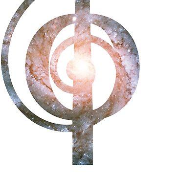 Pinwheel Galaxy | Phi Spiral  by SirDouglasFresh