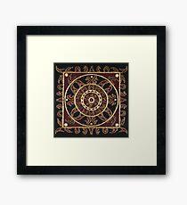 Yoga Mandala Framed Print