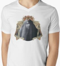 Queen of Darkness: Paper Bunnies & Light Witch  Men's V-Neck T-Shirt