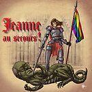 « Jeanne au secours » par le-grom