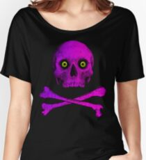SKULL AND CROSSBONES Women's Relaxed Fit T-Shirt
