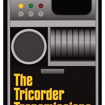 The Tricorder Transmissions Logo by ttt-pod