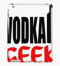 vodka geek iPad Case/Skin