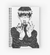 bloody nose Spiral Notebook