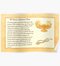The Florence Nightingale Pledge Poster