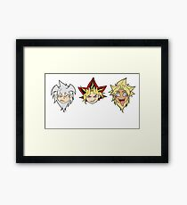 Yu-Gi-Oh! Yamis Framed Print