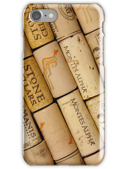 Wine corks by Lisa Kyle Young