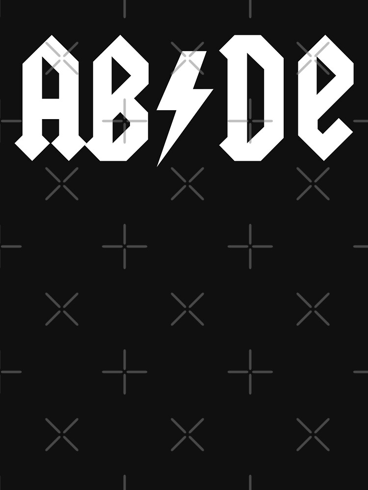 The Big Lebowski 'ABIDE' ACDC Style by cowbellnation