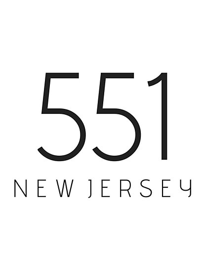 NEW JERSEY 551 • BLACK by kassander