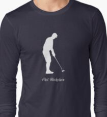 phil mickelson t shirt gradient Long Sleeve T-Shirt