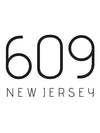NEW JERSEY 609 • BLACK by kassander