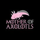 Mother of Axolotls  by jazzydevil