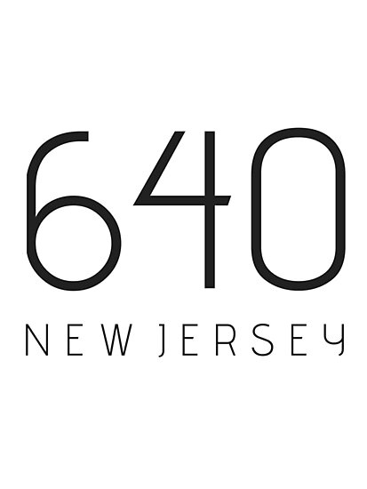 NEW JERSEY 640 • BLACK by kassander