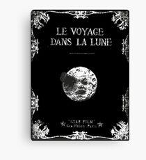 A Trip to the Moon (Le Voyage dans la Lune) — Tribute Canvas Print