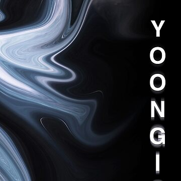 BTS Yoongi - Distorted Marble by camdoesdesign