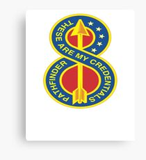 8th Infantry Division Canvas Print