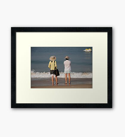Goa beach, India Framed Print