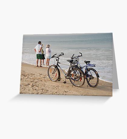 Goa beach, India Greeting Card