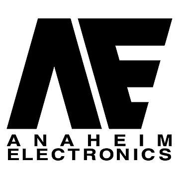 Anaheim Electronics Black Logo by callmehiwatt