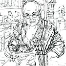 Self Portrait in my Kitchen by Randy Sprout