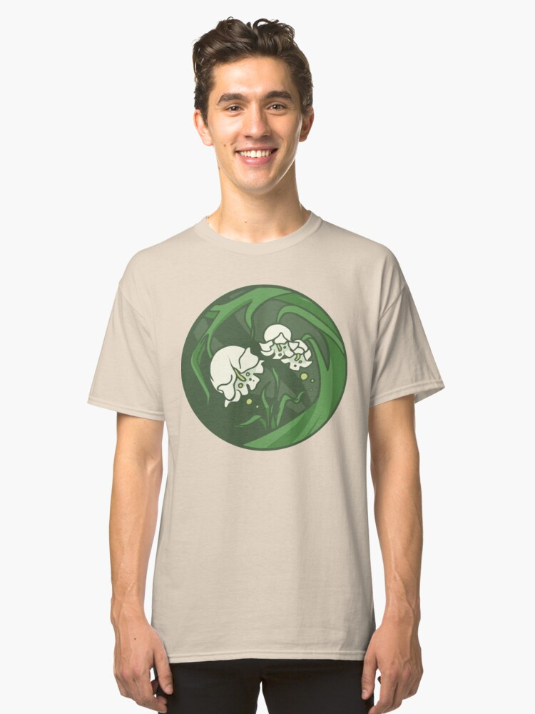 Alternate view of Zelekha - God of Flowers and New Love Classic T-Shirt