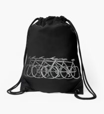 Just bike Drawstring Bag