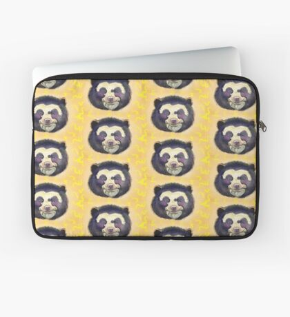 Happy Spectacled Bear Laptop Sleeve