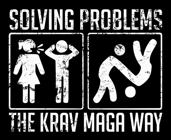 Krava Maga helps with problem solving by RAWWR