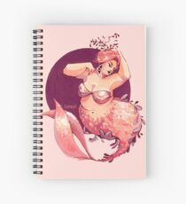 Because every-body can be a mermaid Spiral Notebook