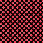Black with Red Polka Dots by William Braddock
