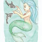 MerMay 2018: May 15th - Behemoth Mermaid  by dreampigment