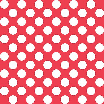Red with White Polka Dots by HawaiiArthst