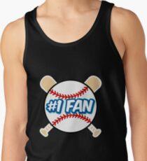 Baseball Number 1 Fan Tank Top
