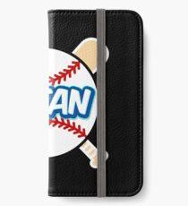 Baseball Number 1 Fan iPhone Wallet/Case/Skin