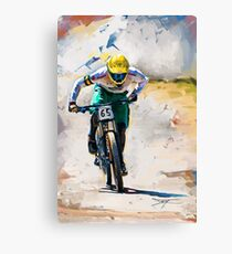 Jake Newell at the Australian Nationals Canvas Print