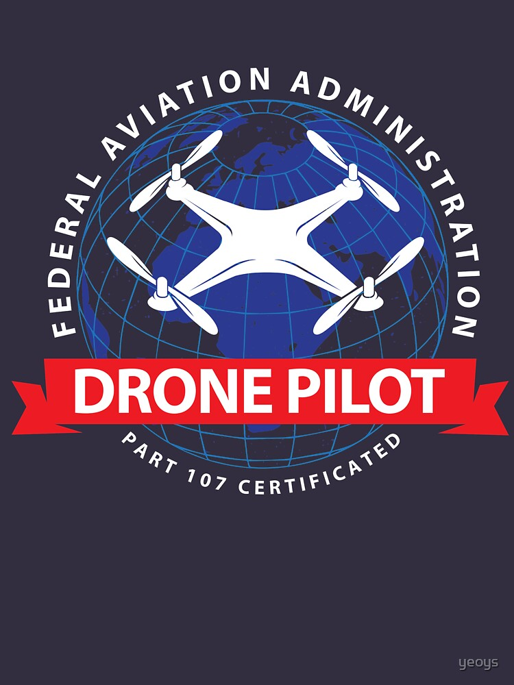 Certified Drone Pilot - Funny Aviation Quotes Gift von yeoys
