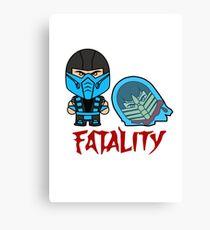 Fatality  Canvas Print