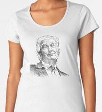 President Donald Trump Clothes, Apparel & Accessories! Women's Premium T-Shirt