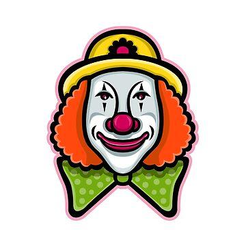 Circus Clown Mascot by patrimonio