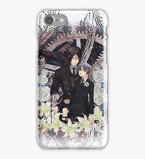 Kuroshitsuji (Black Butler) - Ciel Phantomhive & Sebastian Michaelis 4 iPhone Case/Skin