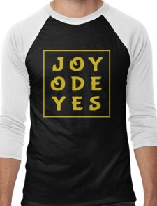 Joy Ode Yes – Gold Men's Baseball ¾ T-Shirt