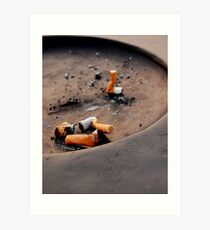 No Smoking Art Print