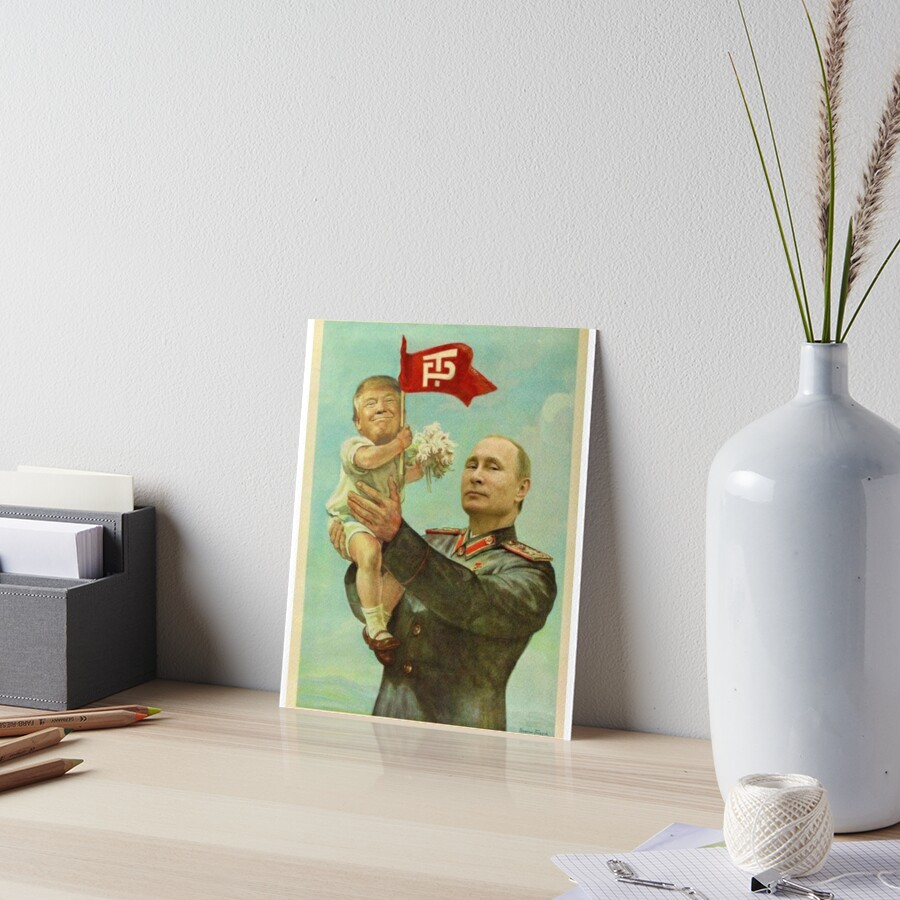 Baby Donald Trump & Daddy Vladimir Putin by Winchester's Collection